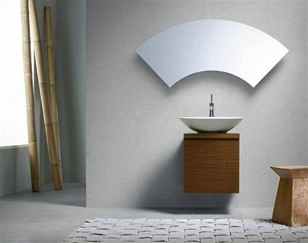 Cool Bathroom Mirrors – Home Design Ideas And Pictures In Unusual Shaped Mirrors (#8 of 20)