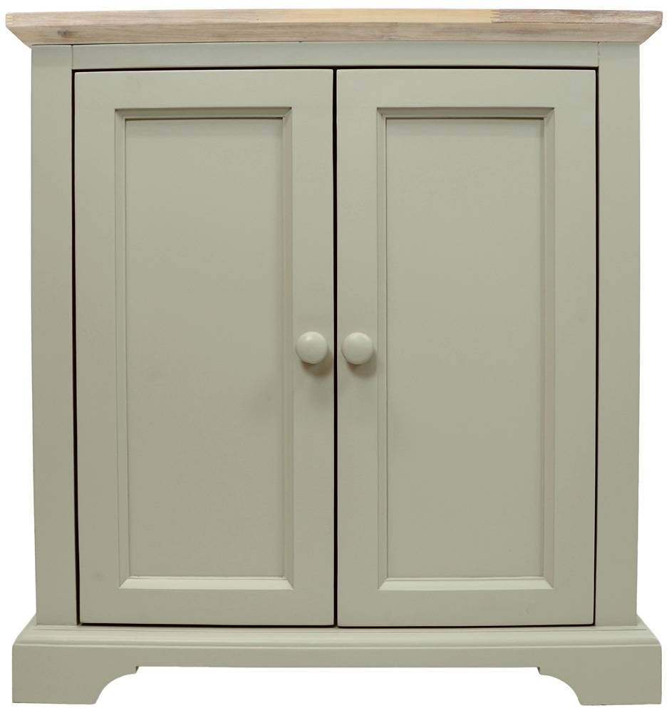 Corner Sideboard, Kitchen Corner Cupboard Unit With 2 Doors &amp In Corner Sideboard Unit (View 3 of 20)