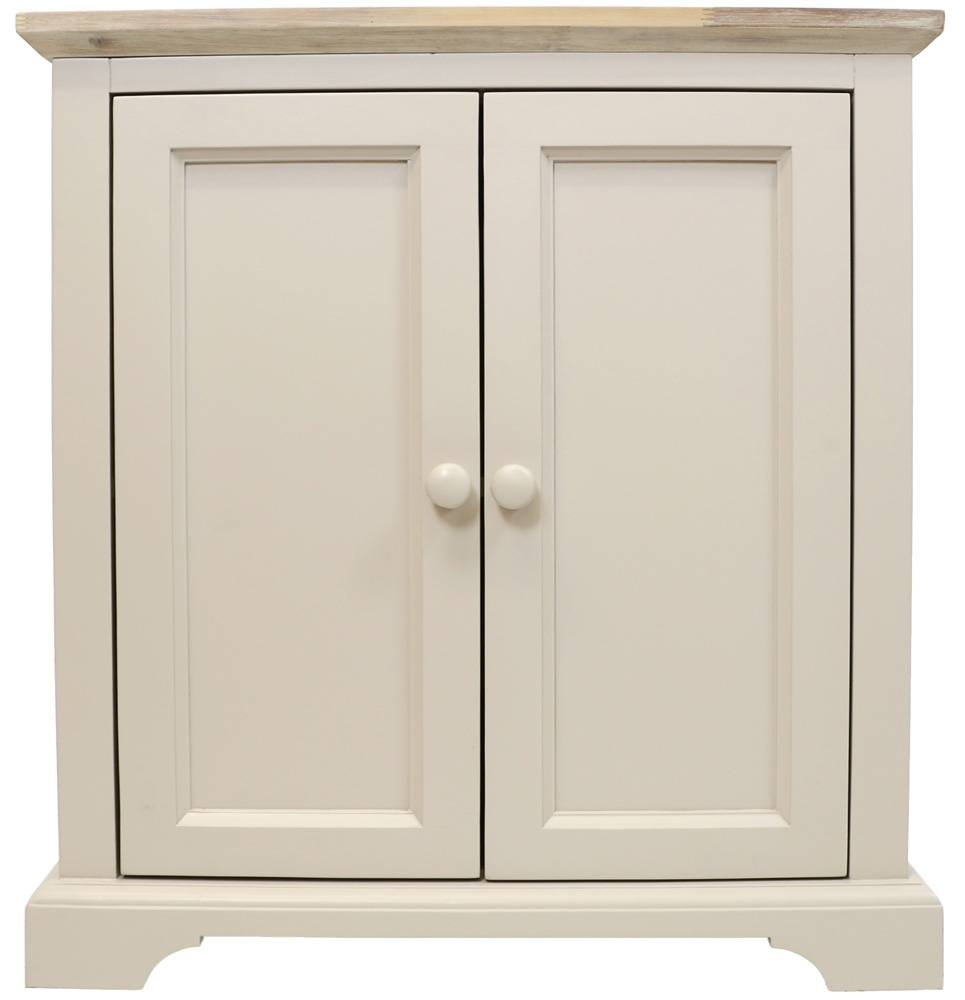 Corner Sideboard, Kitchen Corner Cupboard Unit With 2 Doors &amp Inside Corner Sideboard Unit (View 19 of 20)