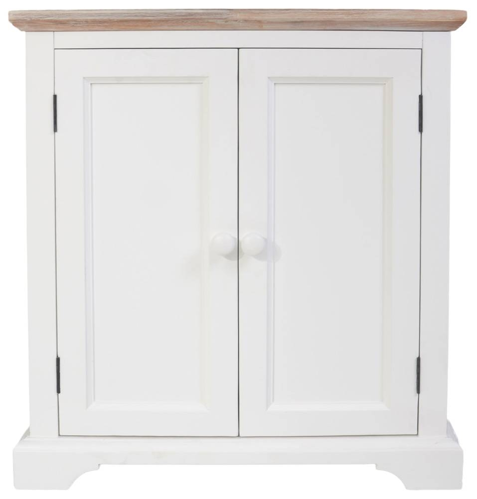 Corner Sideboard, Kitchen Corner Cupboard Unit With 2 Doors &amp Within Fully Assembled Sideboards (#8 of 20)