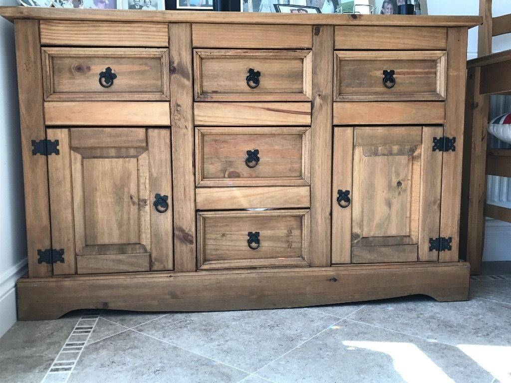 Corona Mexican Pine Sideboard Drawer Unit | In Alnwick With Mexican Sideboard (#2 of 20)
