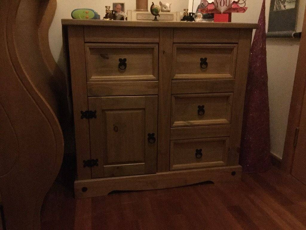 Corona Mexican Pine Sideboard | In Malvern, Worcestershire | Gumtree With Regard To Mexican Sideboard (#3 of 20)