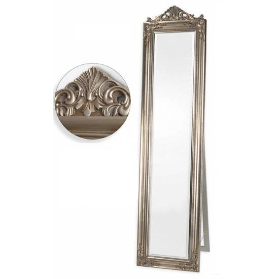 Popular Photo of Silver Cheval Mirrors