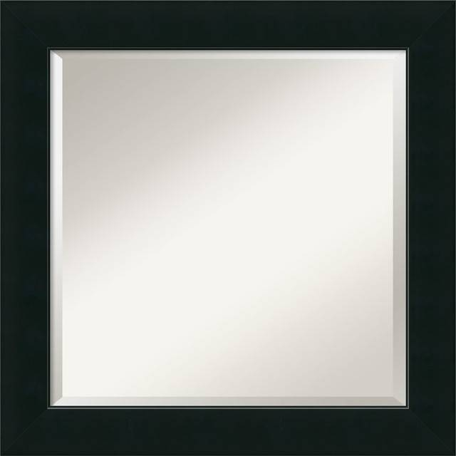 """Corvino Wall Mirror, Square' 25""""x25"""" – Contemporary – Wall Mirrors In Square Wall Mirrors (View 5 of 20)"""
