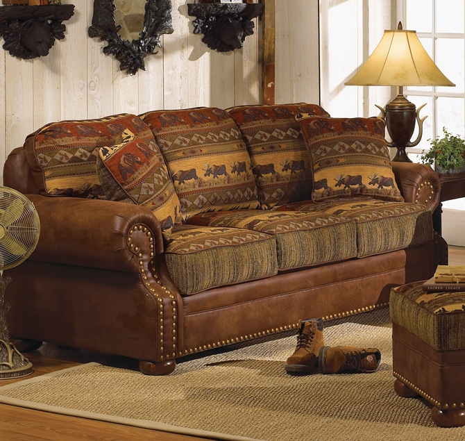 Country Style Sofas And Loveseats Leather Sectional Sofa In Country Style Sofas And Loveseats (#8 of 15)