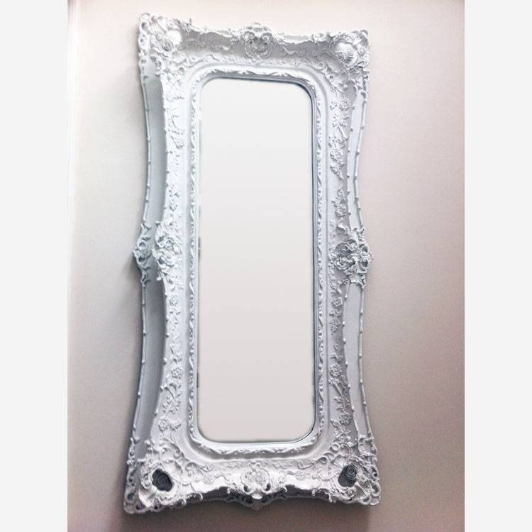 Cream Mirror Decorative Large Frame 180 X 89 Cm Extra Large Intended For Cream Mirrors (#21 of 30)