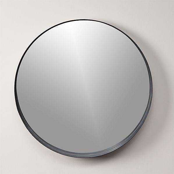 Inspiration about Crescent Mirror For Black Round Mirrors (#13 of 20)