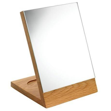 Croydex – Kingston Free Standing Mirror – Real Oak – Wa681076 At With Free Standing Oak Mirrors (#6 of 15)