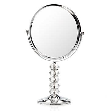 Crystal Stand Vanity Mirror | Z Gallerie In Small Free Standing Mirrors (#10 of 20)
