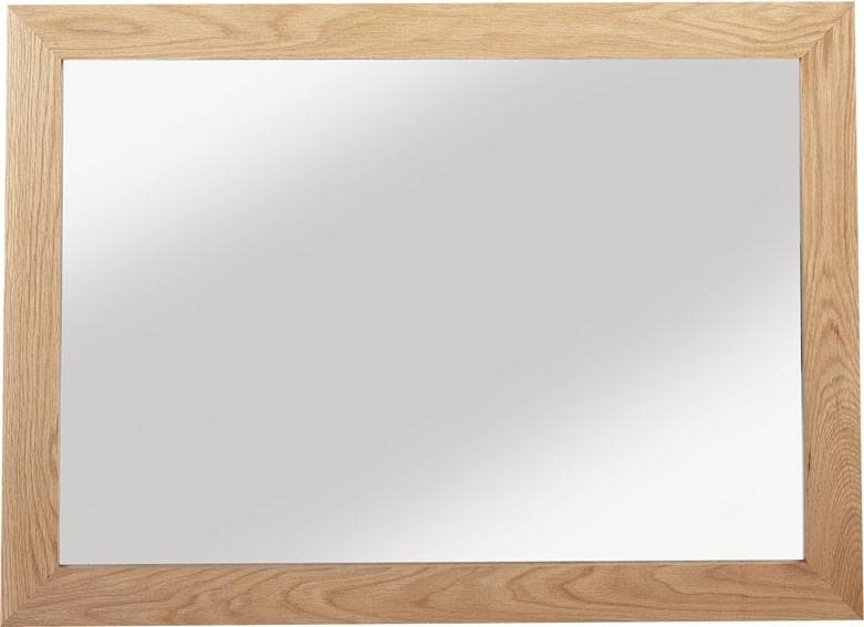 Cuba Solid Oak Large Mirror | Oak Furniture Solutions With Large Oak Mirrors (View 2 of 20)
