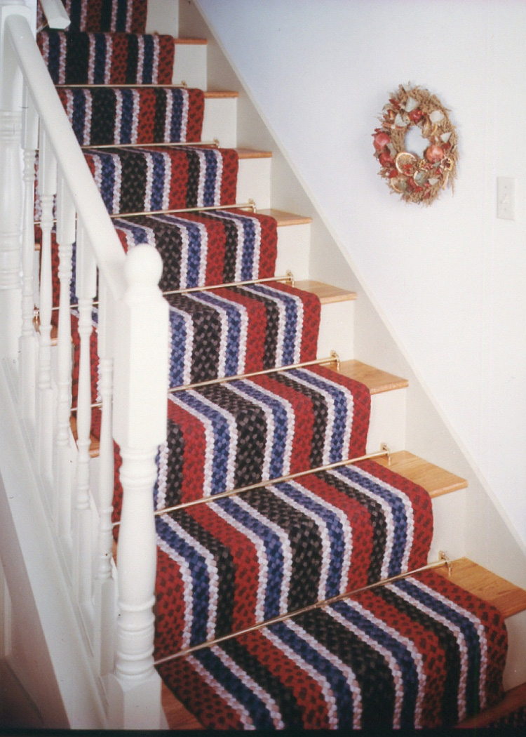 Custom Braided Rugs Country Braid House For Stair Treads Braided Rugs (#9 of 20)