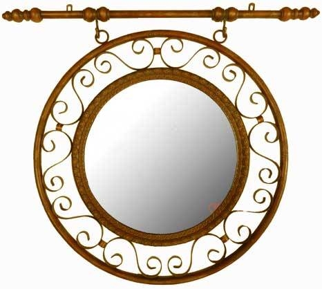 Custom Frames For Mirrors | Louisiana Bucket Brigade Intended For Wrought Iron Bathroom Mirrors (#16 of 30)