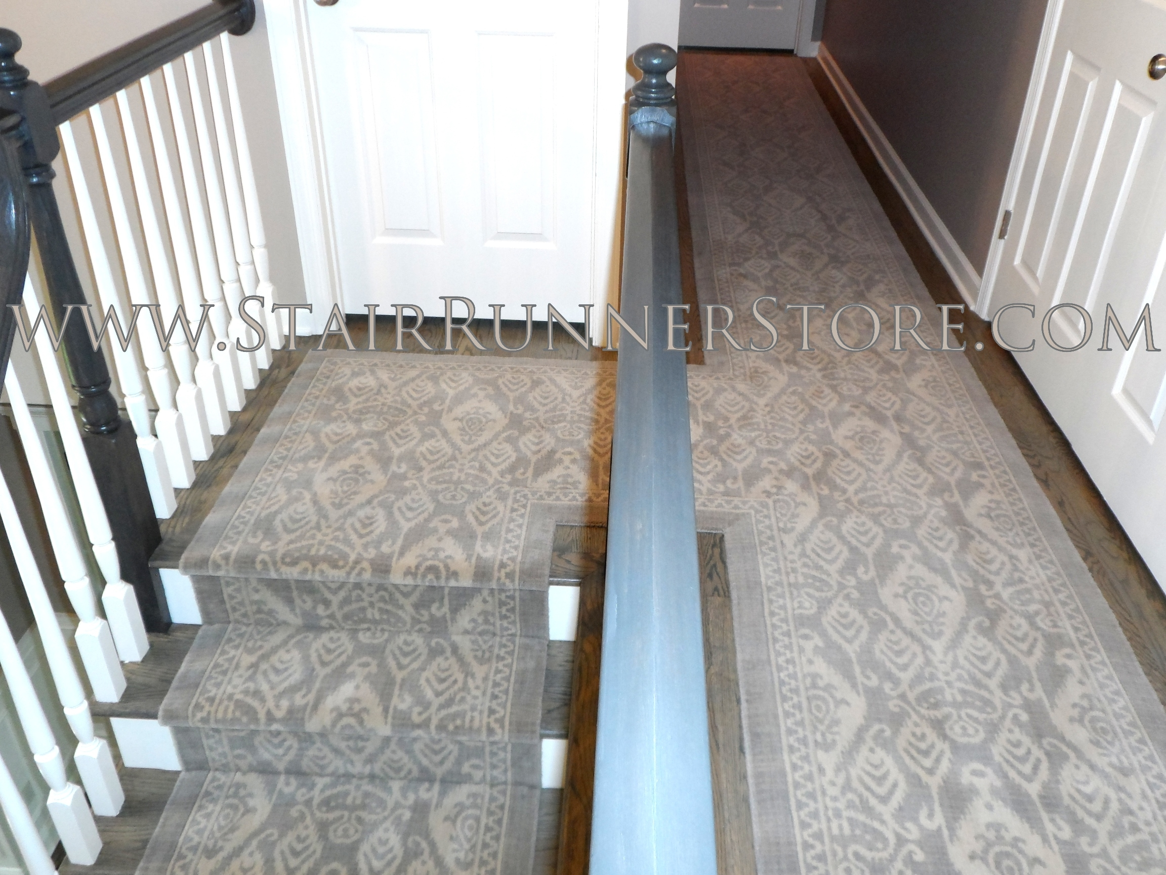 Custom Hallway Runner Installations Stair Runner Store Blog With Custom Hallway Runners (#8 of 20)
