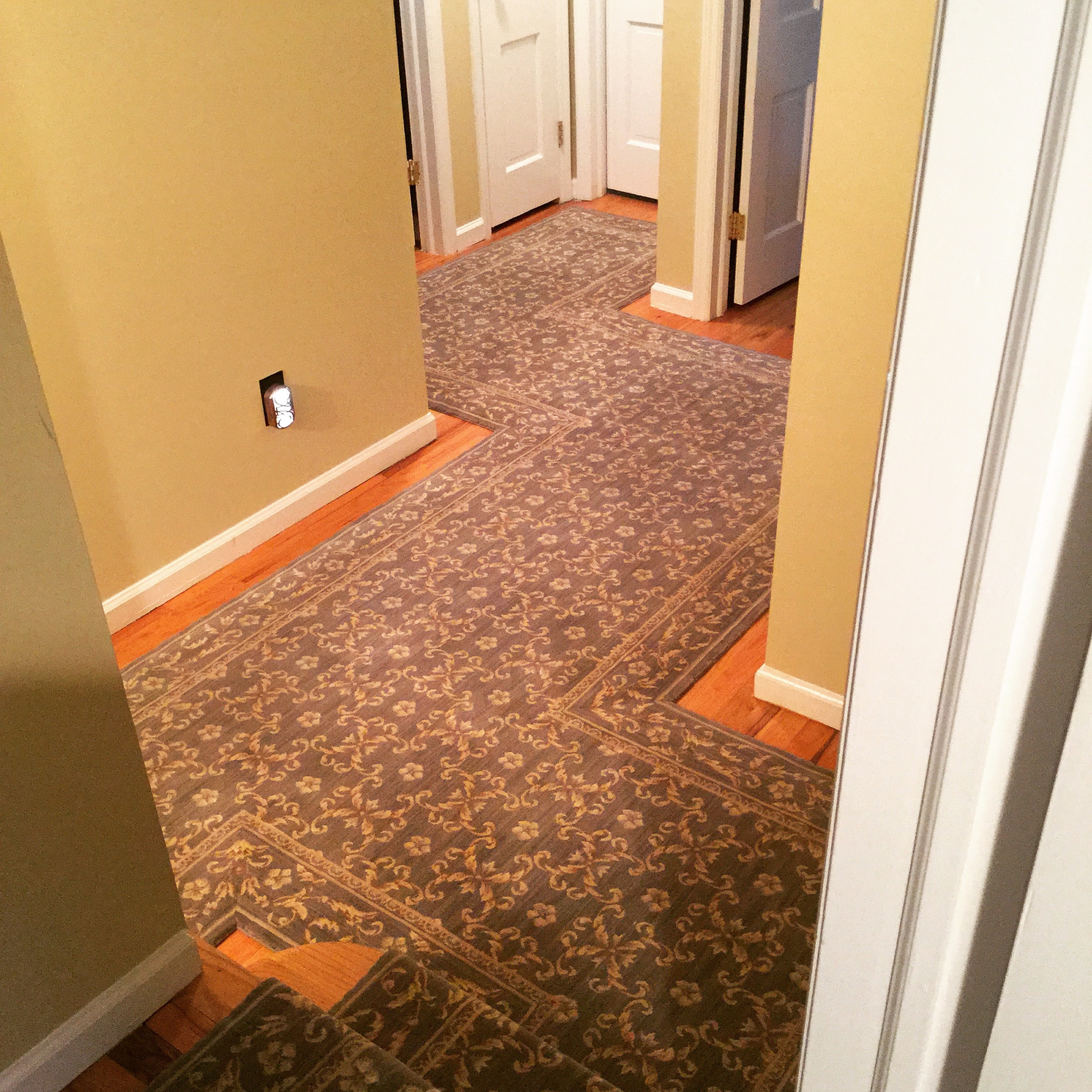 Inspiration About Custom Stair Runners Hallways Pertaining To Custom Runners  For Hallways (#4 Of