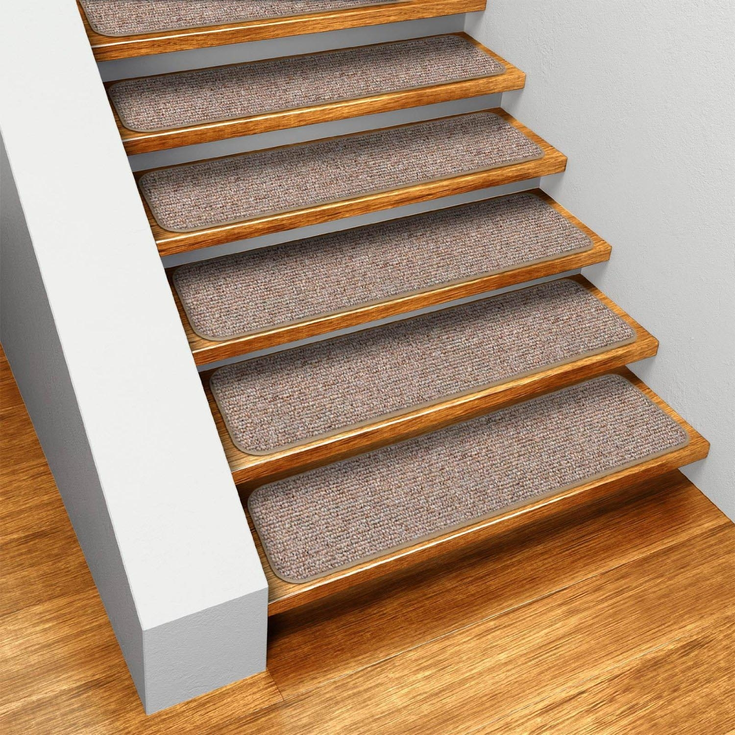 Cute Bullnose Carpet Stair Treads Modern Carpet Treads For Intended For Bullnose Stair Tread Rugs (View 4 of 20)