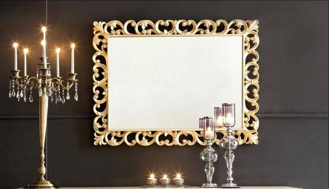 Daisy Floral Mirrorlarge Fancy Wall Mirrors Mirror Designs Pertaining To Fancy Wall Mirrors (#6 of 20)