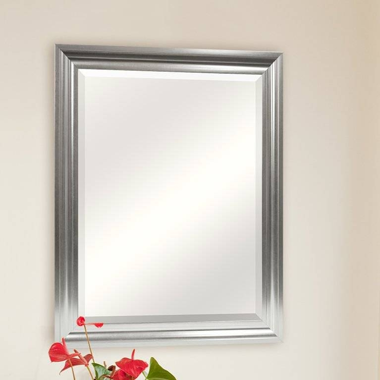 Darby Home Co Rectangle Plastic Beveled Wall Mirror & Reviews Regarding Bevelled Mirrors (View 19 of 20)