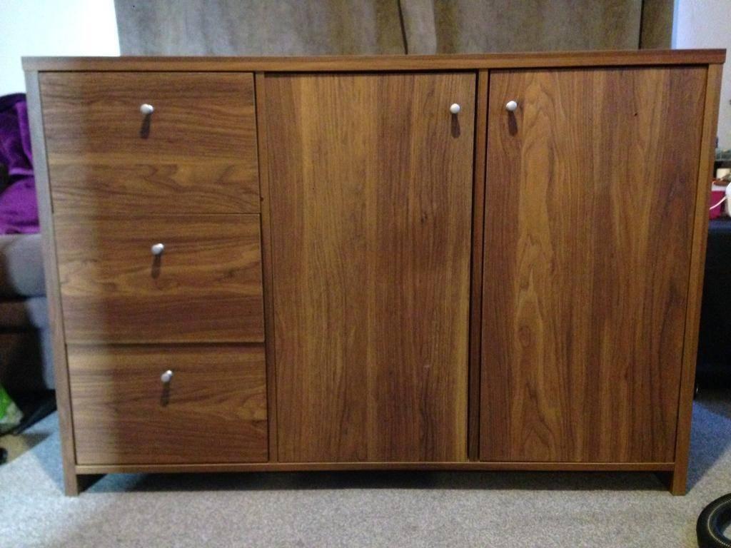Dark Brown Sideboard + Matching Bookcase | In Bangor, County Down With Regard To Dark Brown Sideboard (#6 of 20)