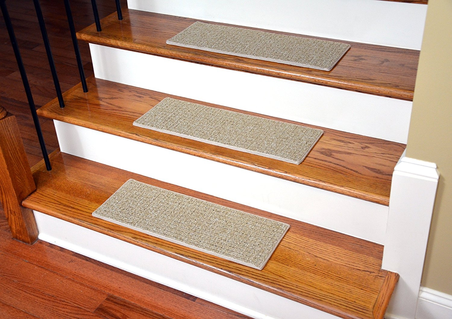 Dean Indooroutdoor Pet Friendly Tape Free Non Slip Carpet Stair With Carpet Stair Treads Set Of  (#8 of 20)