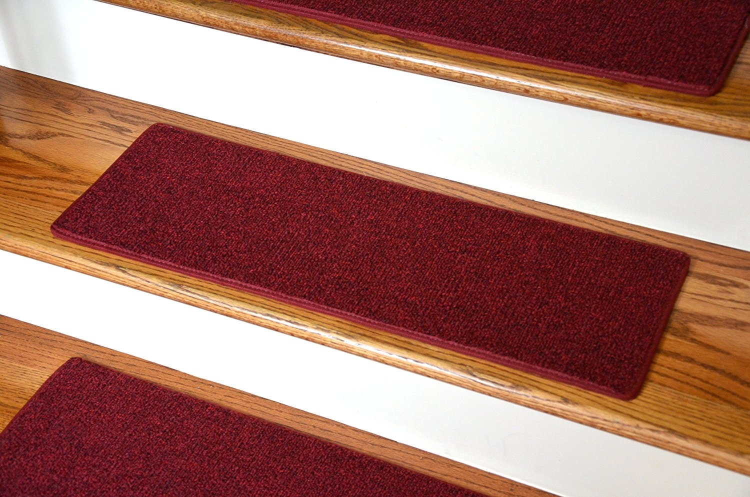 Dean Non Slip Tape Free Pet Friendly Diy Carpet Stair Treadsrugs Throughout Carpet Stair Treads Non Slip (View 11 of 20)