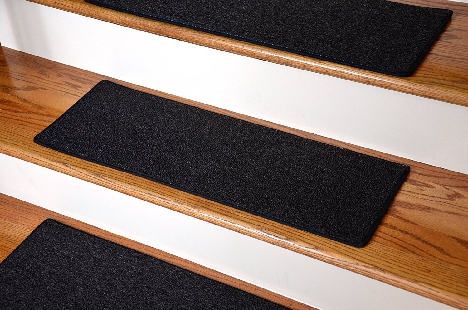 Dean Non Slip Tape Free Pet Friendly Diy Carpet Stair Treadsrugs Within Carpet Stair Treads Set Of  (#9 of 20)
