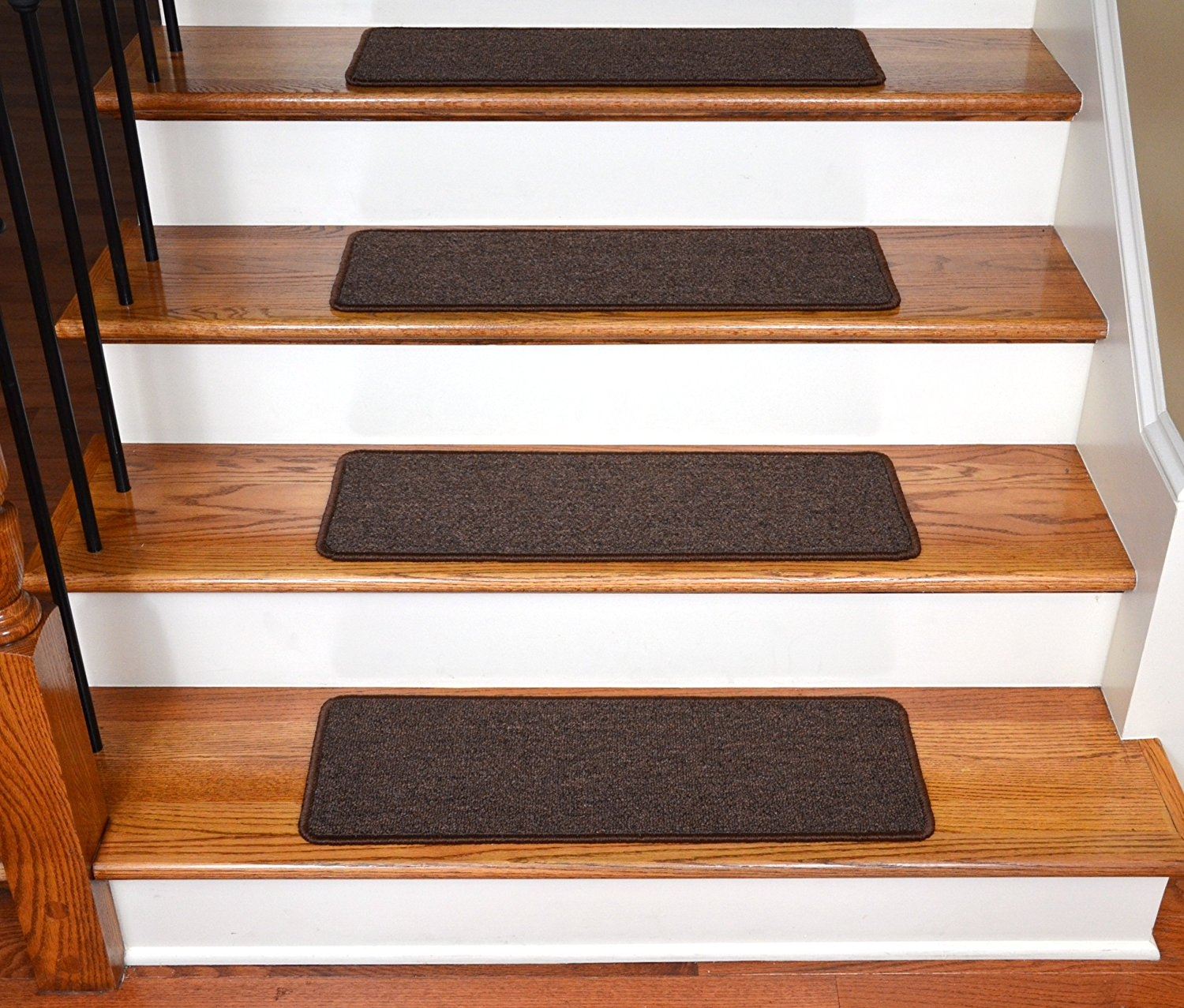 Dean Serged Diy 27 X 9 Imperial Carpet Stair Treads 13 With Pertaining To Non Skid Stair Treads Carpet (#7 of 20)