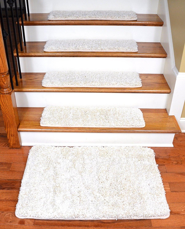 Dean Serged Diy Premium Carpet Stair Treads 30 X 9 Deluxe With Regard To Premium Carpet Stair Treads (#15 of 20)