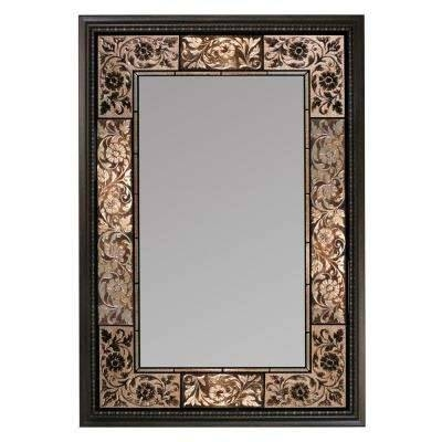 Deco Mirror – Mirrors – Wall Decor – The Home Depot Pertaining To Pewter Ornate Mirrors (View 19 of 30)