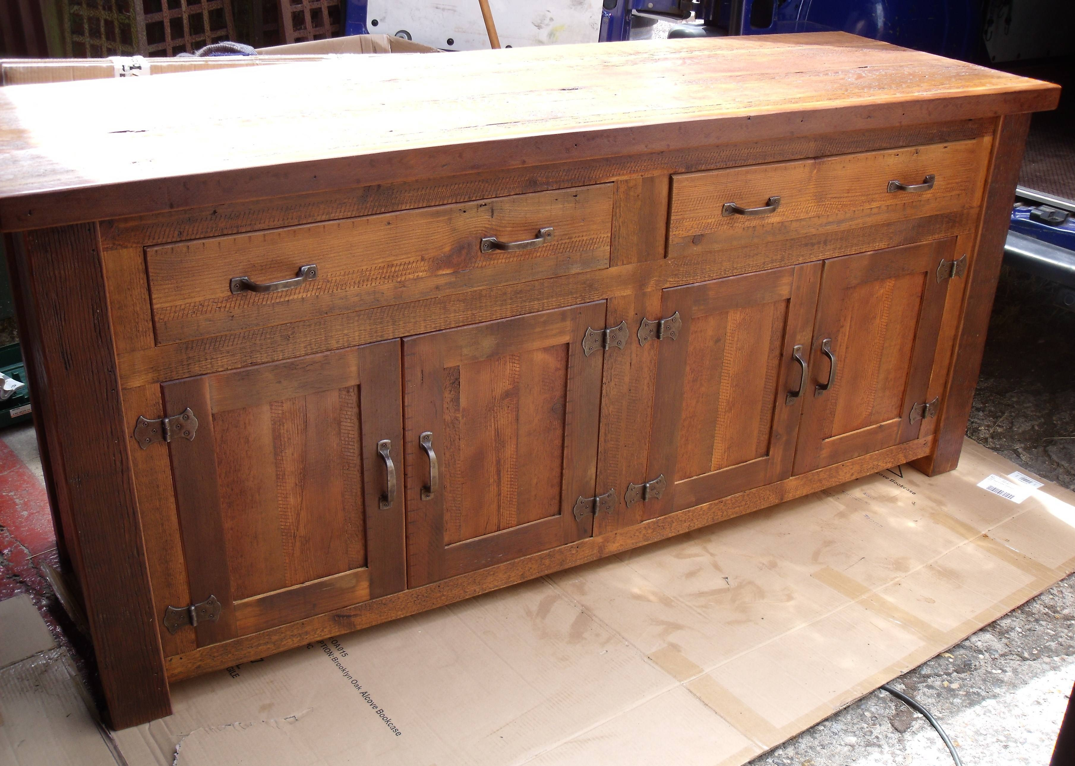 Decor: Rustic Sideboards And Rustic Sideboard For Rustic Sideboards (View 4 of 20)