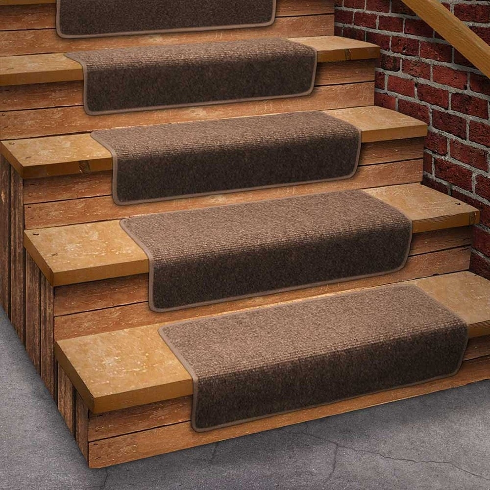 Decor Stair Rug Stair Treads Carpet Within Carpet Step Covers For Stairs (#4 of 20)