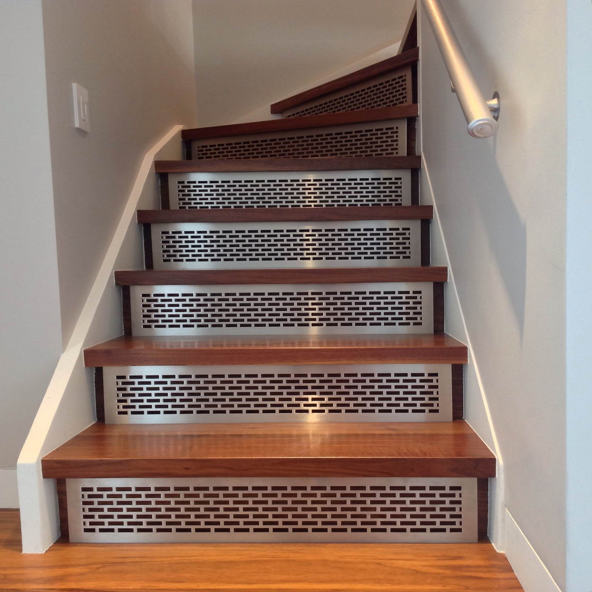 Decor Using Captivating Stair Treads For Alluring Home Decoration With Decorative  Stair Treads (#4