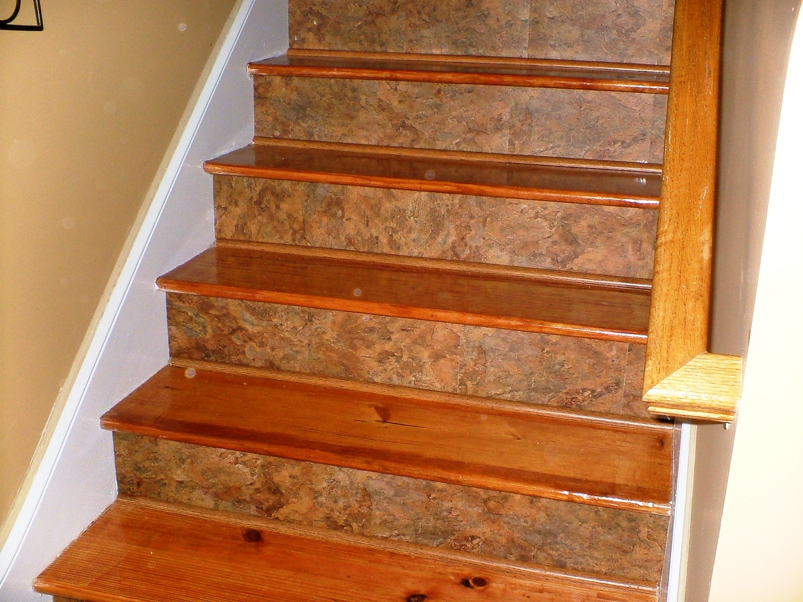 Decor Using Captivating Stair Treads For Alluring Home Decoration Within Decorative Indoor Stair Treads (#8 of 20)