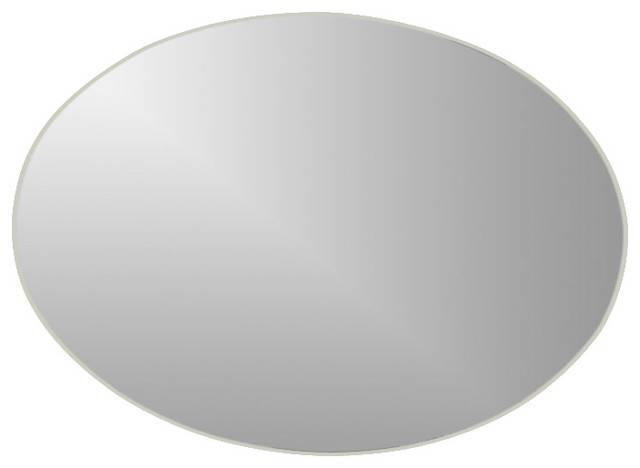 Decor Wonderland Extra Long Oval Wall Mirror – Bathroom Mirrors Regarding Long Oval Mirrors (#14 of 30)