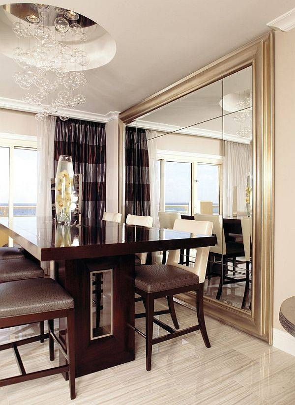 Decorate Using Oversized Mirrors | Moldings, Spaces And Walls Throughout Massive Wall Mirrors (#17 of 20)