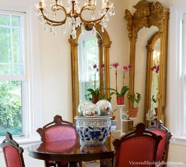 Decorating Our Victorian Home Via Craigslist! With Large Ornate Gold Mirrors (#25 of 30)