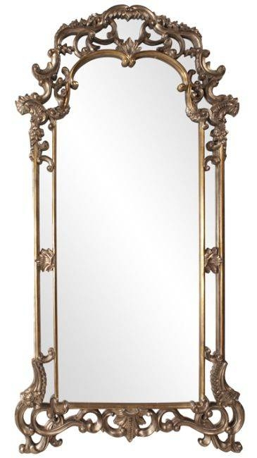Decorating With Large Wall Mirrors: 5 Types Of Decorative Mirrors For Large Ornate Mirrors (#11 of 20)