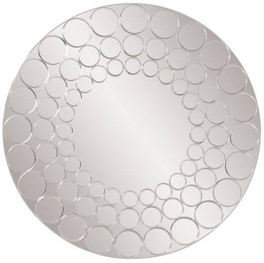 Decorating With Large Wall Mirrors: 5 Types Of Decorative Mirrors Inside Round Bubble Mirrors (#19 of 30)