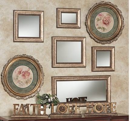 Decorating Your Wall With Accent Mirrors | Touch Of Class Inside Elaborate Mirrors (#25 of 30)