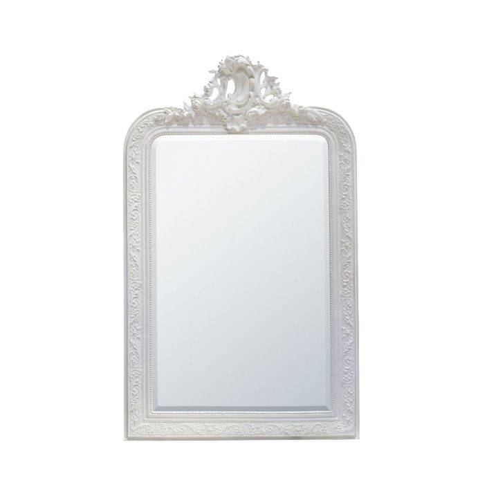Decorative Antique French Style Wall Mirror| Shabby Chic With Regard To French Style Wall Mirrors (#13 of 30)