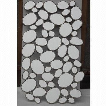 Decorative Bubble Wall Mirror, Available In Clear/black | Global Throughout Large Bubble Mirrors (View 16 of 30)