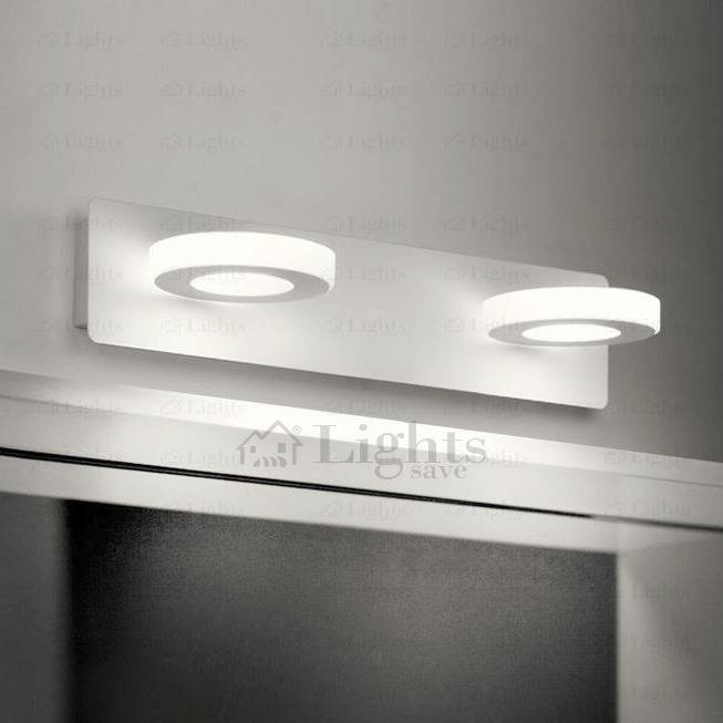 Decorative Circle Shaped Hardware Ceiling Plate Led Light Mirror For Ceiling Light Mirrors (#7 of 15)