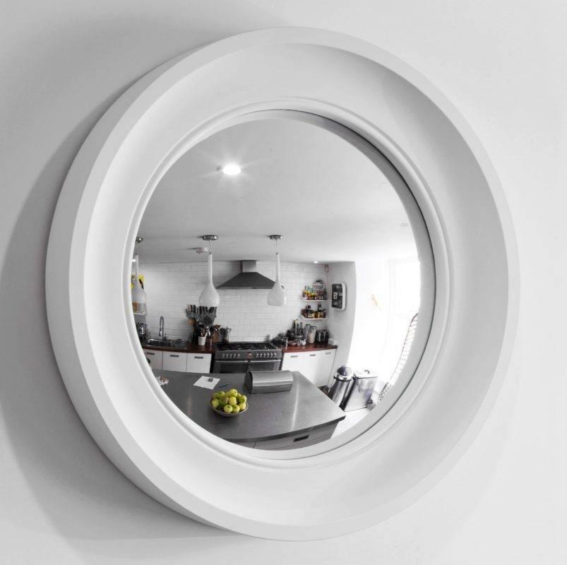 Decorative Convex Mirror – Medium Cavetto – Omelo Mirrors Omelo With Regard To White Convex Mirrors (#15 of 30)