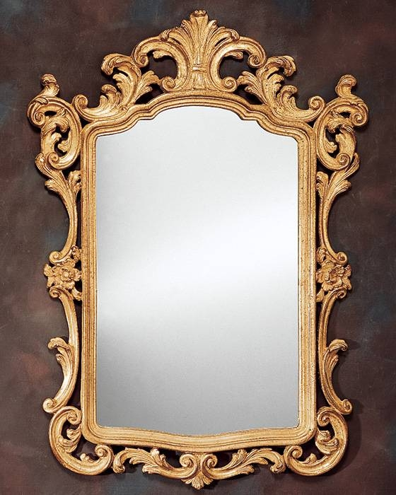 Decorative Mirror | Decorating Ideas Throughout Gold Antique Mirrors (#11 of 20)