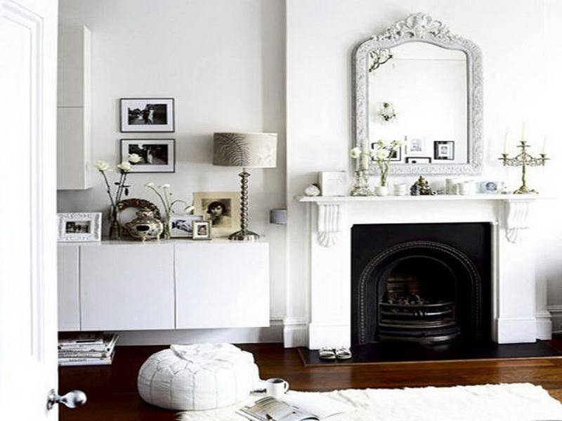 Decorative Mirrors For Above Fireplace With Decorating The In Mantle Mirrors (#21 of 30)