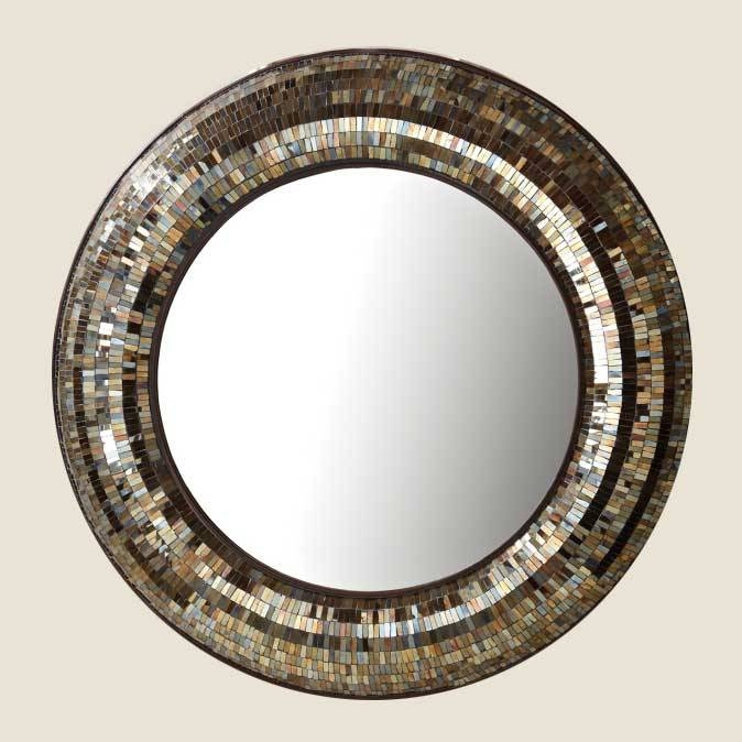Decorative Mirrors | Large Wall Mirrors | Round Mirror | Unique Intended For Unique Round Mirrors (#17 of 30)