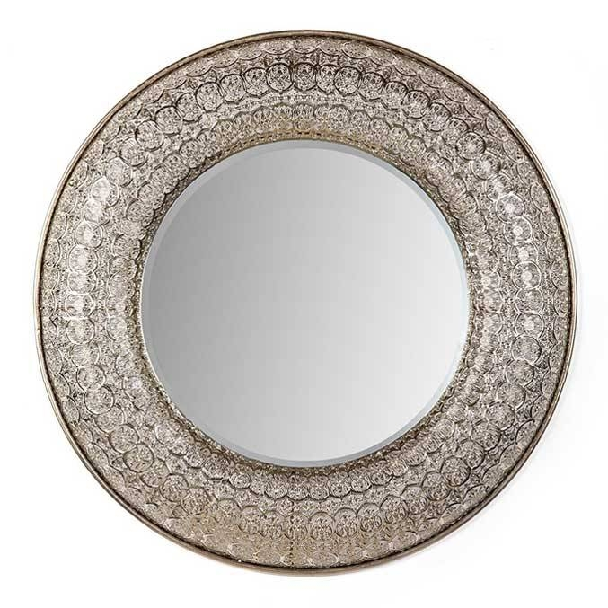 Decorative Mirrors | Large Wall Mirrors | Round Mirror | Unique Pertaining To Round Large Mirrors (#11 of 20)