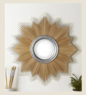 Decorative Mirrors | Large Wall Mirrors | Round Mirror | Unique Pertaining To Unique Round Mirrors (#18 of 30)
