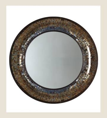 Decorative Mirrors | Large Wall Mirrors | Round Mirror | Unique Throughout Round Mosaic Wall Mirrors (#8 of 15)