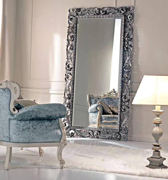 Decorative Ornate Mirrors : Wall Vs Floor, Which One Better Intended For Ornate Floor Mirrors (#17 of 30)