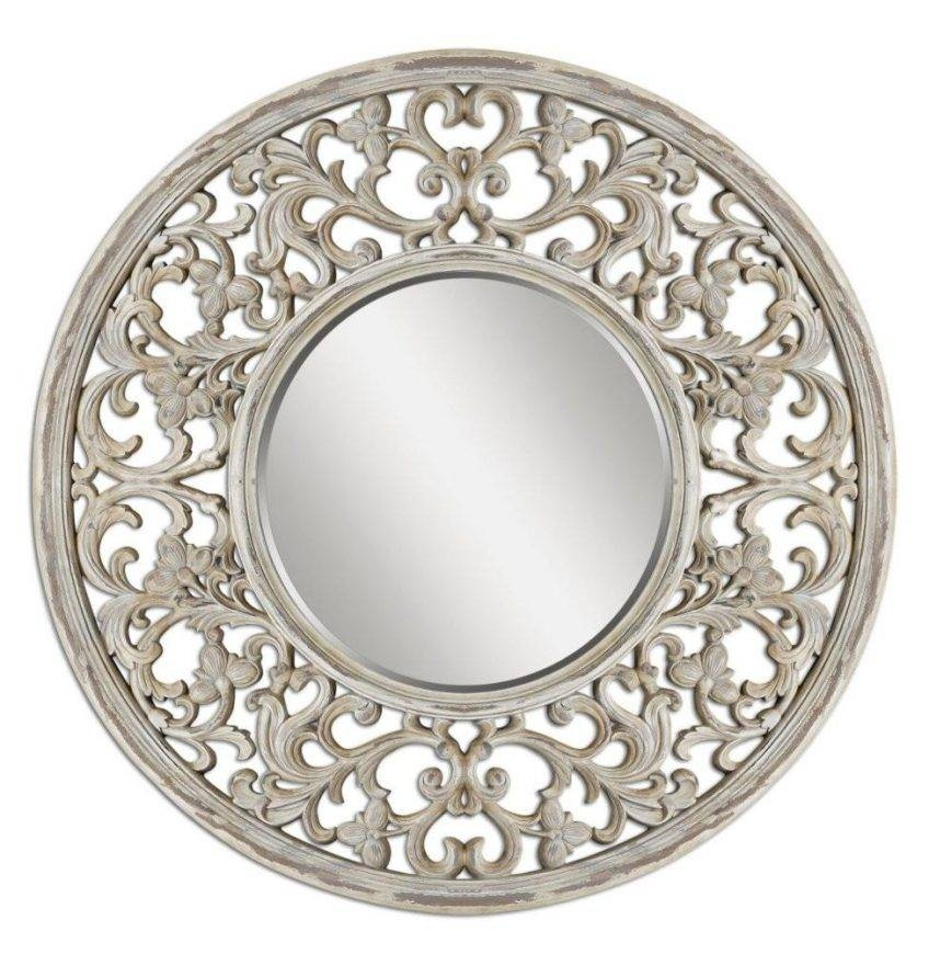 Decorative Round Wall Mirrors – Harpsounds (#12 of 20)